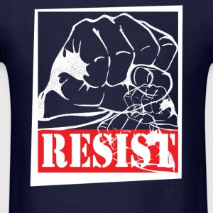 RESIST T-Shirts - Men's T-Shirt