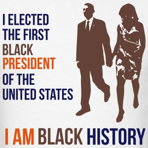 I Am Black History - Presidential Edition T-Shirts - Men's T-Shirt