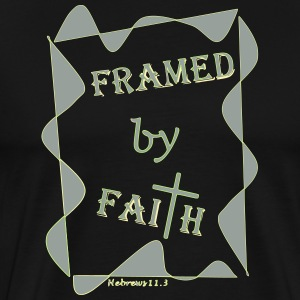 Framed by Faith 11.3 - Men's Premium T-Shirt