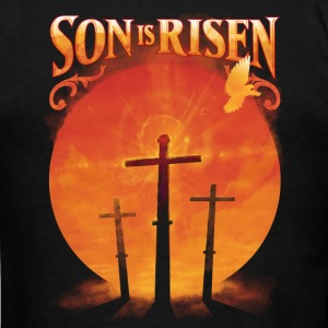 Son is Risen Jesus Christ Christian - Men's T-Shirt