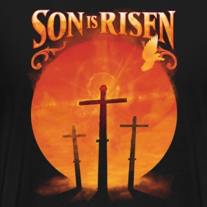 Son is Risen Jesus Christ Christian - Men's Premium T-Shirt
