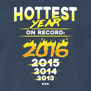 Earth Day - Science March - Hottest Year On Record - Men's Premium T-Shirt
