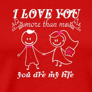 Valentine shirt or hoodies - Men's Premium T-Shirt