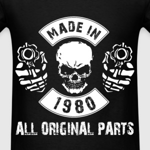 Made in 1980 All original parts - Men's T-Shirt