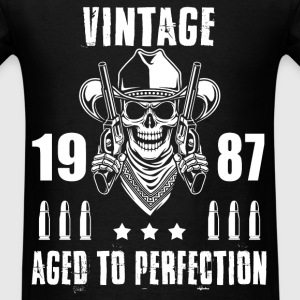 Vintage 1987 Aged to perfection - Men's T-Shirt