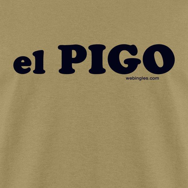 El Pigo -letra negra