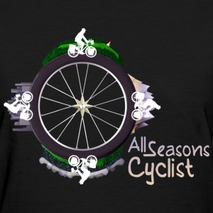 All Seasons cyclist T-Shirts - Women's T-Shirt
