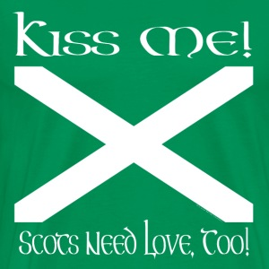 Kiss This Scot - Men's Premium T-Shirt