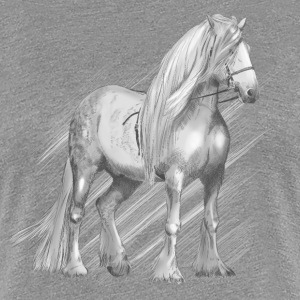 Cold-blooded horse T-Shirts - Women's Premium T-Shirt