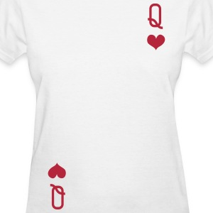 QUEEN OF HEARTS ALICE IN WONDERLAND T-Shirts - Women's T-Shirt