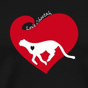 Love Cheetah Shirt - Men's Premium T-Shirt