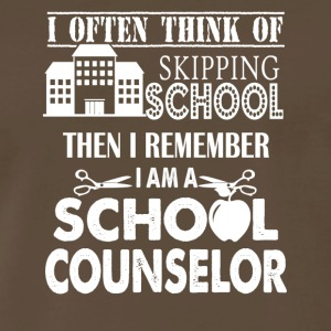 I'm School Counselor Shirt - Men's Premium T-Shirt