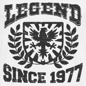 LEGENDS  77 DHJFHJFD.png T-Shirts - Men's Premium T-Shirt
