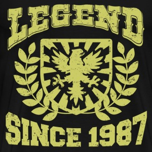 LEGENDS  87 HSJHDJSA.png T-Shirts - Men's Premium T-Shirt