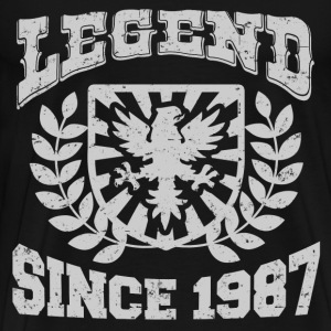 LEGENDS  87 JDSHDJD.png T-Shirts - Men's Premium T-Shirt