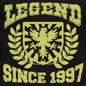 LEGENDS  97 SDJHJDAS.png T-Shirts - Men's Premium T-Shirt
