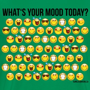 SmileyWorld Your Mood Today Smiley Collection - Men's Premium T-Shirt