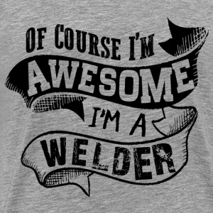 Awesome Welder T-Shirts - Men's Premium T-Shirt