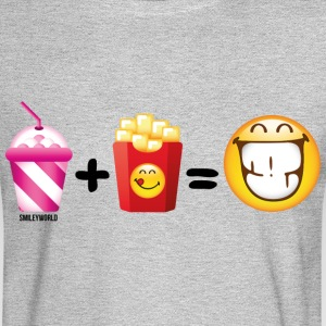 SmileyWorld Milkshake And French Fries - Men's Long Sleeve T-Shirt