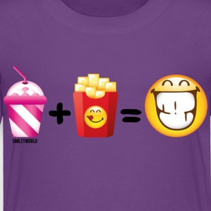 SmileyWorld Milkshake And French Fries - Toddler Premium T-Shirt