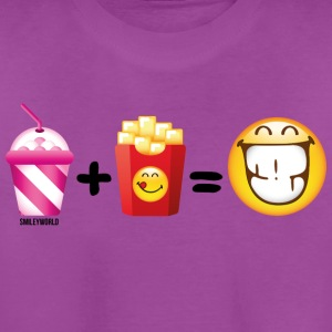 SmileyWorld Milkshake And French Fries - Kids' Premium T-Shirt