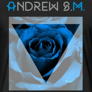 Blue rose - Fitted Cotton/Poly T-Shirt by Next Level