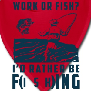 work or fish Caps - Bandana
