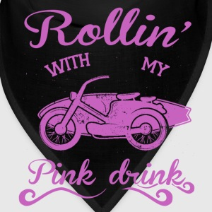 Rollin' with my pink drink Caps - Bandana