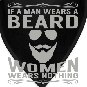 IF A MAN WEARS A BEARD WOMAN WEARS NOTHING Caps - Bandana