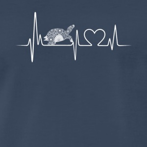 turtle heartbeat shirt - Men's Premium T-Shirt