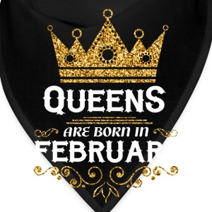 queens are born in february Caps - Bandana