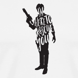 Han Solo quote t shirt design JLane Design Teepubl - Men's Premium T-Shirt
