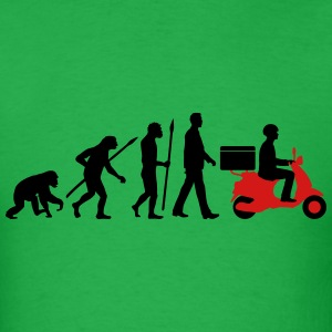 evolution_scooter_pizza_supplier_072016c T-Shirts - Men's T-Shirt