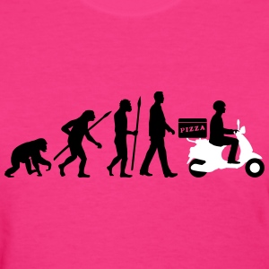 evolution_scooter_pizza_supplier_072016a T-Shirts - Women's T-Shirt