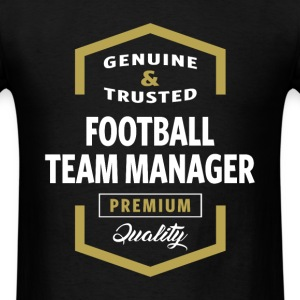 Football Team Manager Logo T-shirt - Men's T-Shirt