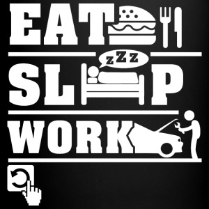 Eat Sleep Work Mugs & Drinkware - Full Color Mug