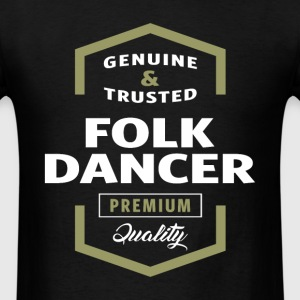 Folk Dancer Logo T-shirt - Men's T-Shirt