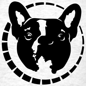 French Bulldog white tshirt - Men's T-Shirt