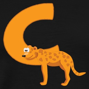 C Is For Cheetah - Men's Premium T-Shirt