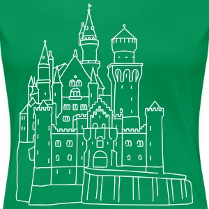 Neuschwanstein Castle - Women's Premium T-Shirt
