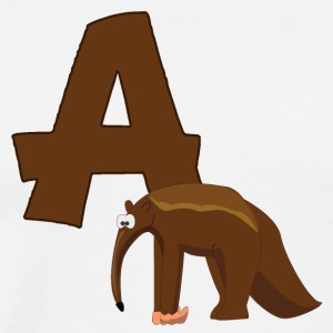 A Is For Anteater - Men's Premium T-Shirt