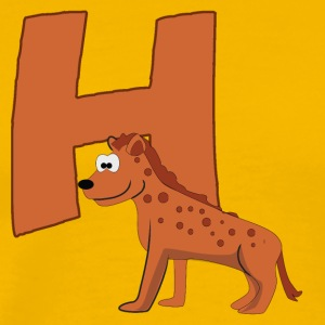 H Is For Hyena - Men's Premium T-Shirt