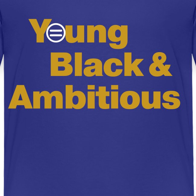 YBA Toddler Tee - Blue and Gold