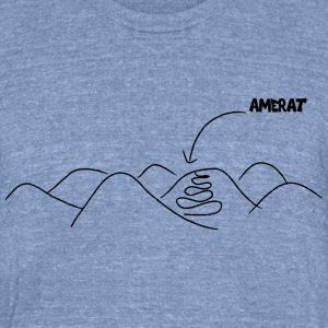amerat english - Unisex Tri-Blend T-Shirt by American Apparel