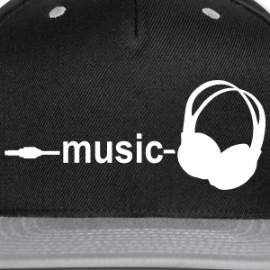 Music Sportswear - Snap-back Baseball Cap