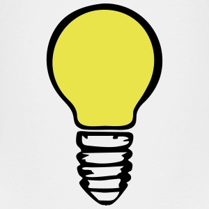 Light bulb - yellow Baby & Toddler Shirts - Toddler Premium T-Shirt