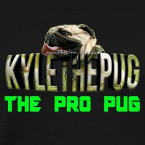Kyle The Pug Logo YouTube - Men's Premium T-Shirt