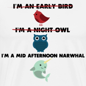 Mid Afternoon Narwhal - Men's Premium T-Shirt