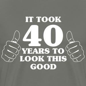 It took 50 years to look this good T-Shirts - Men's Premium T-Shirt
