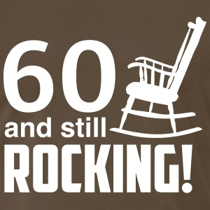 60 and still rocking! T-Shirts - Men's Premium T-Shirt